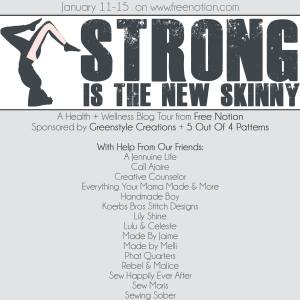 Strong Is The New Skinny Blog Tour | Made By Jaime
