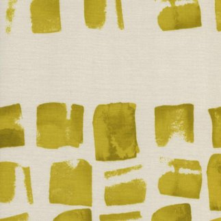 C+S Paper Bandana Yellow Paint Dots