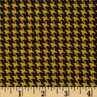 blacky ellow houndstooth