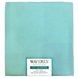 waverly aqua solid