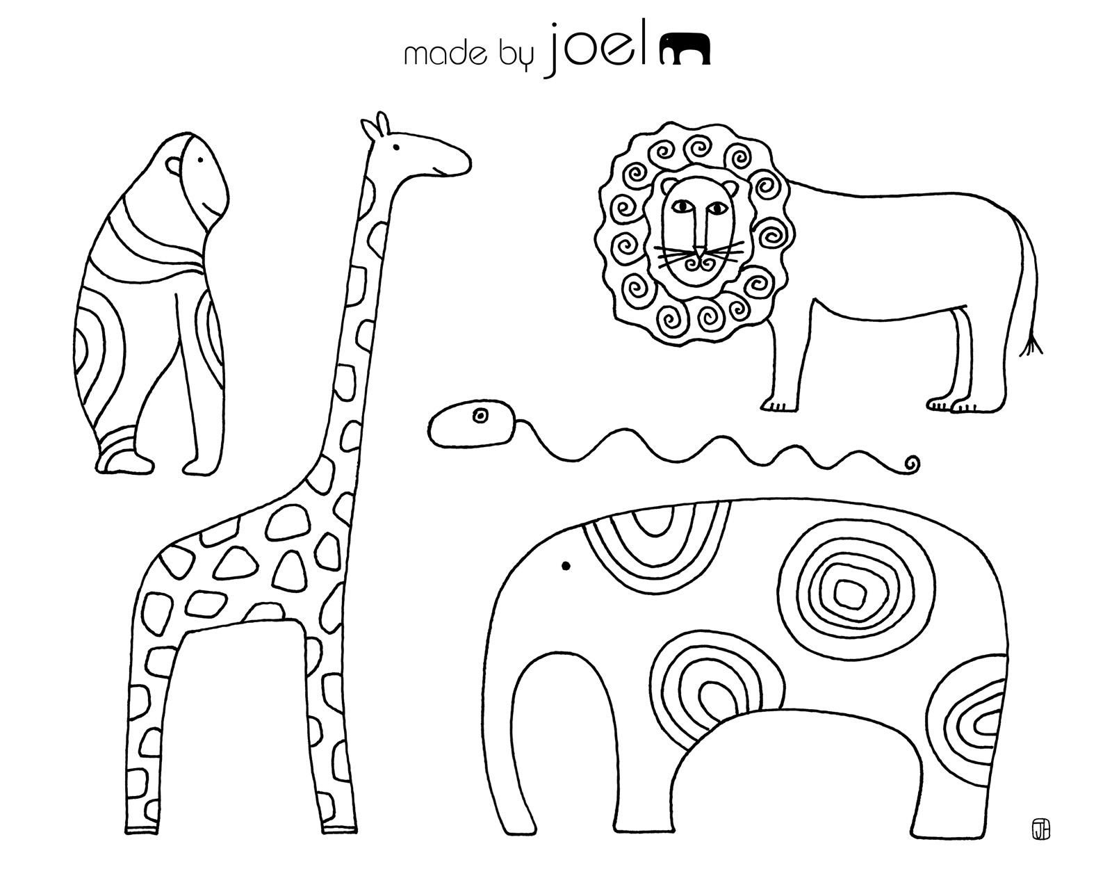 Made By Joel Giveaway Winner And New Coloring Sheets