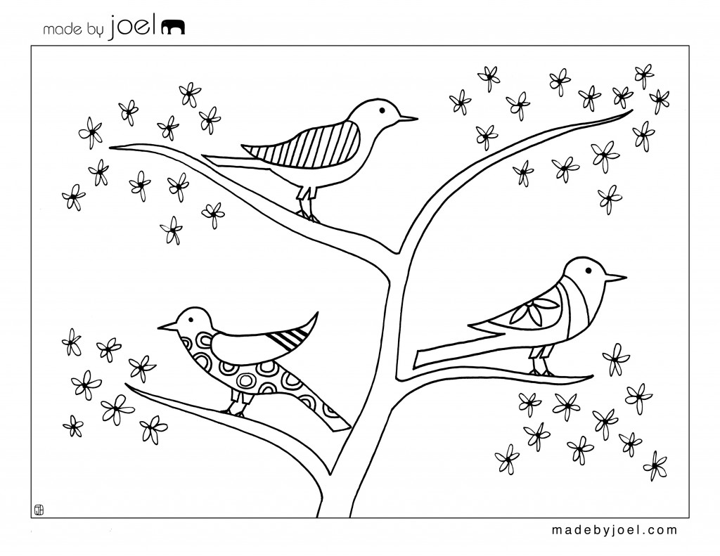 Made By Joel Giveaway Winners And New Coloring Sheet