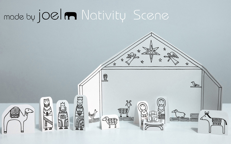 Make Sheep For Nativity Set