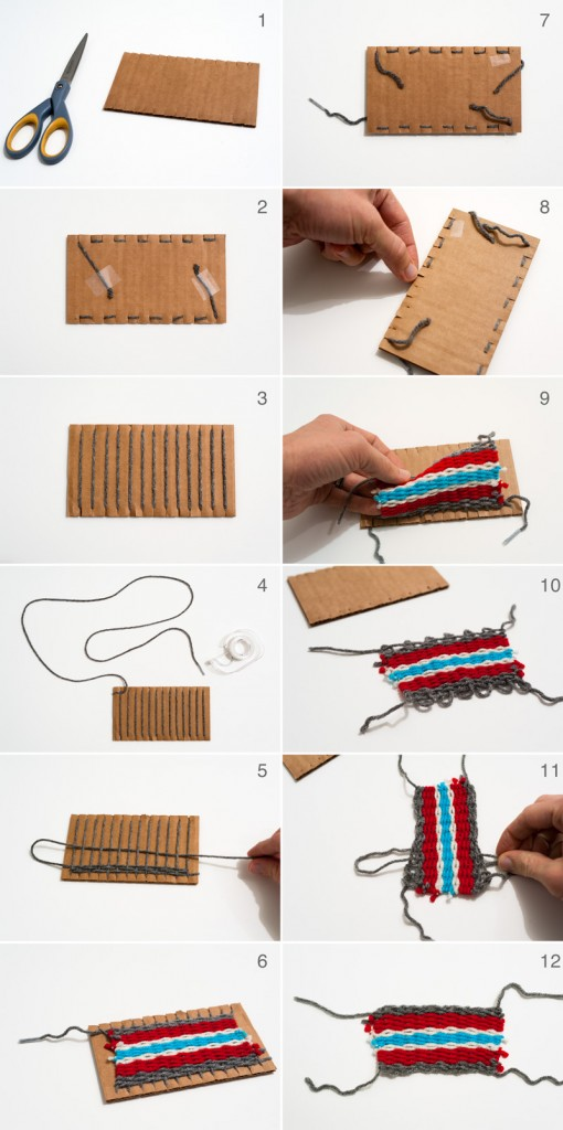 Finger Knitting Directions