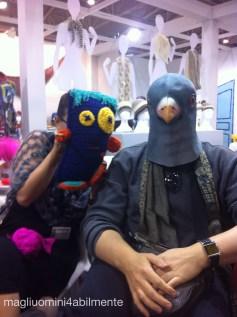 io, il Tipo Strano e il piccione