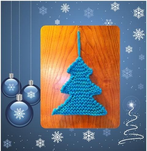 MaryJ Handmade: Albero di Natale all'uncinetto semplicissimo | 490x480