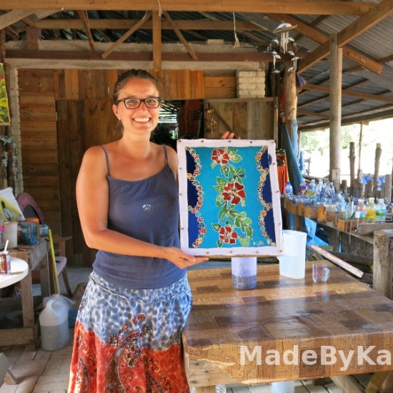 how o batik painting