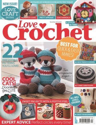 Love Crochet November 2016 Kate Alinari