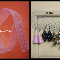 Earring holder - The Idea !