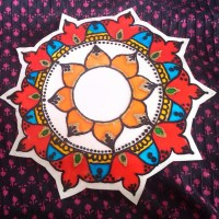 Glass Painting Rangoli
