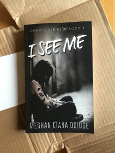 I See Me paperback proof front
