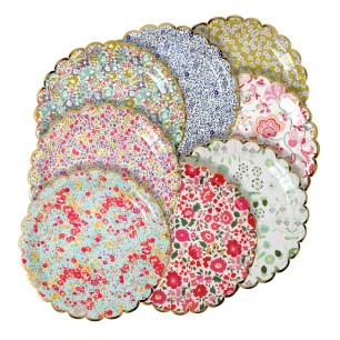 Paper plates from The Jelly Rabbit