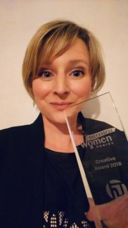 Made By Me Craft Parties won the Creative Award at the Successful Women In Business Awards 2018