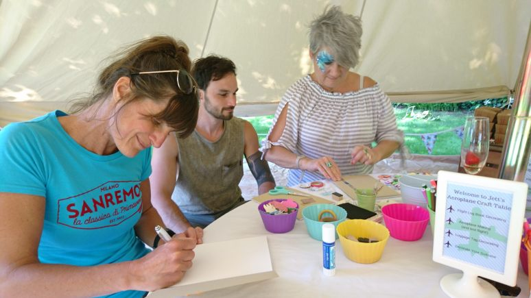 Belle Tent Craft Party