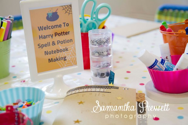 Party Photography Tips - Take photos of the set up