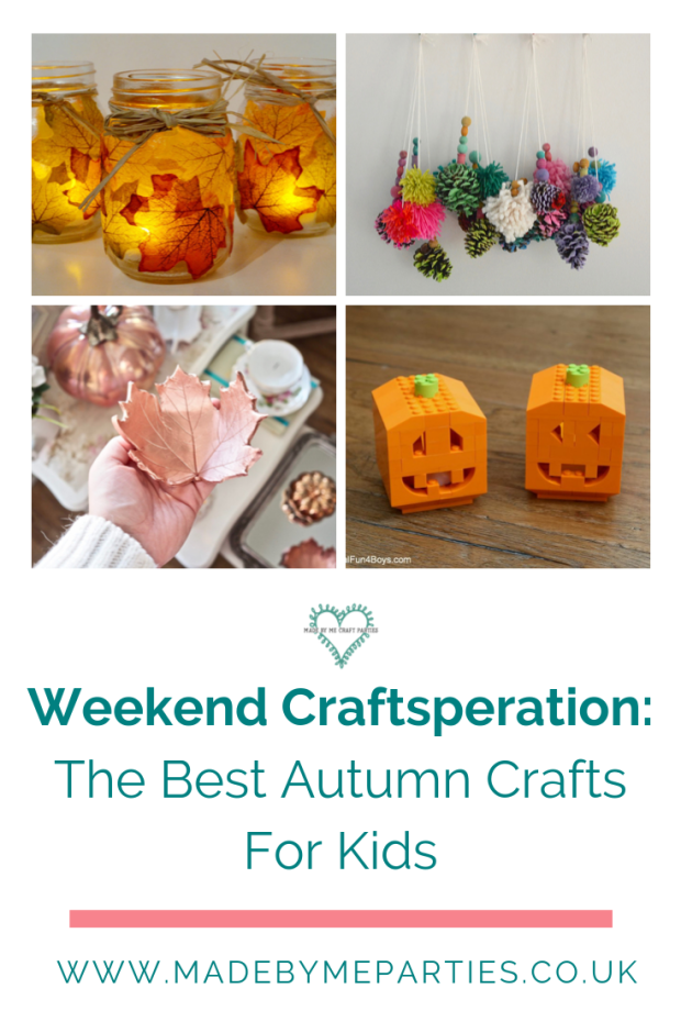 The best autumn craft ideas for kids.  A round up of the cutest seasonal crafts I can find on the web!