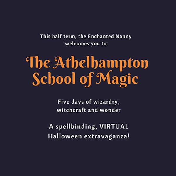Virtual school of magic poster