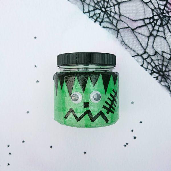 Halloween crafts - Frankenstein lantern kit