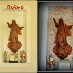 Project 2: Background for a Simple 3D Artwork (Sacred Heart Carving)