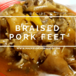 Braised Pork Feet Recipe
