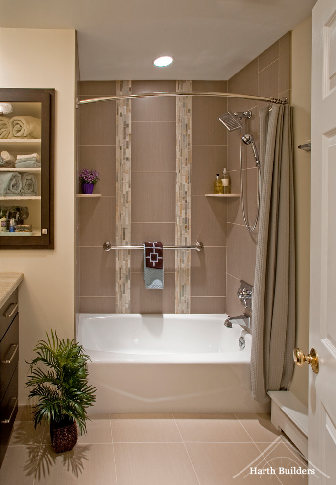 beautiful curved shower curtain rod