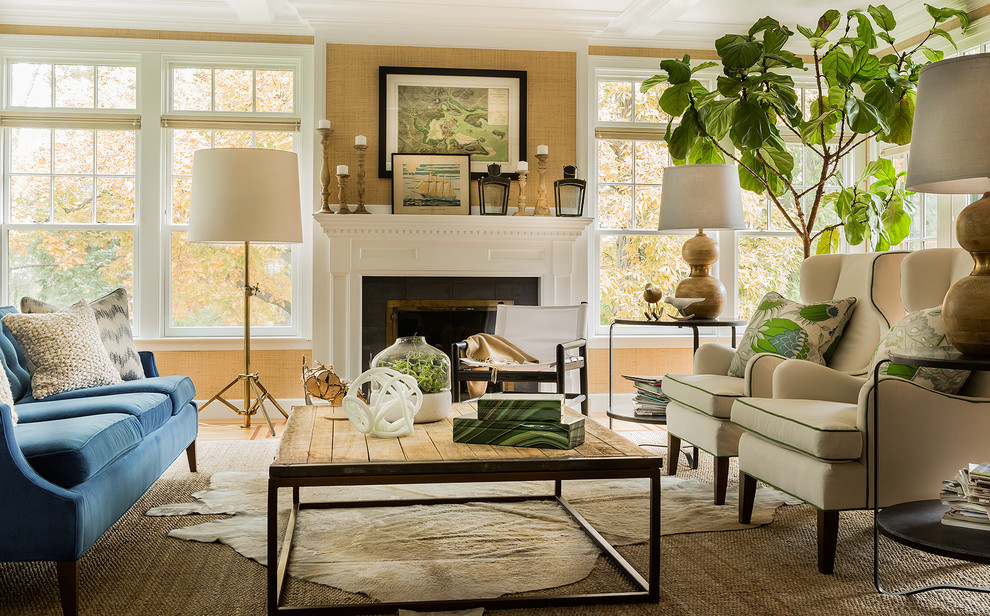 Transitional Living Room Image Ideas Innovative Large
