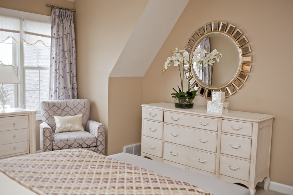 Magnificent mirrored dresser in Bedroom Contemporary with ... on Mirrors Next To Bed  id=46561