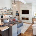 Impressive mantel shelfin Living Room Contemporary with ... on Fireplace Casual Living id=89033