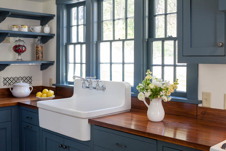 Splashy Kohler Kitchen Sinks In Kitchen Farmhouse With