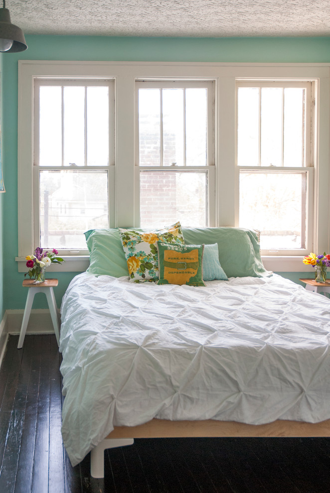 Beautiful bedspreads for teens in Bedroom Eclectic with Wood Bed  next to Teen Bedroom Paint  alongside Teen Boys Bedroom Ideas  and Bedroom Wall Color