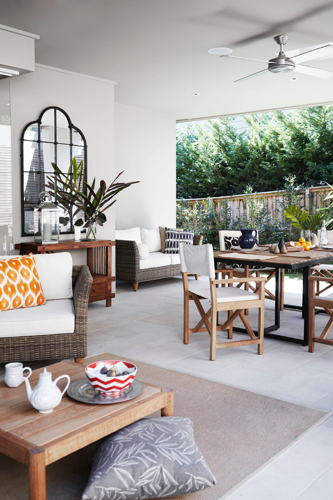 Dazzling wicker loveseat in Patio Contemporary with ... on Outdoor Living Wicker  id=32363
