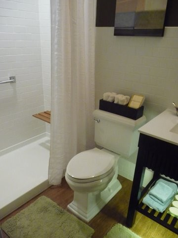 Inspired Kohler Memoirs In Bathroom Traditional With Wainscoting Bathroom Next To Picture Frame