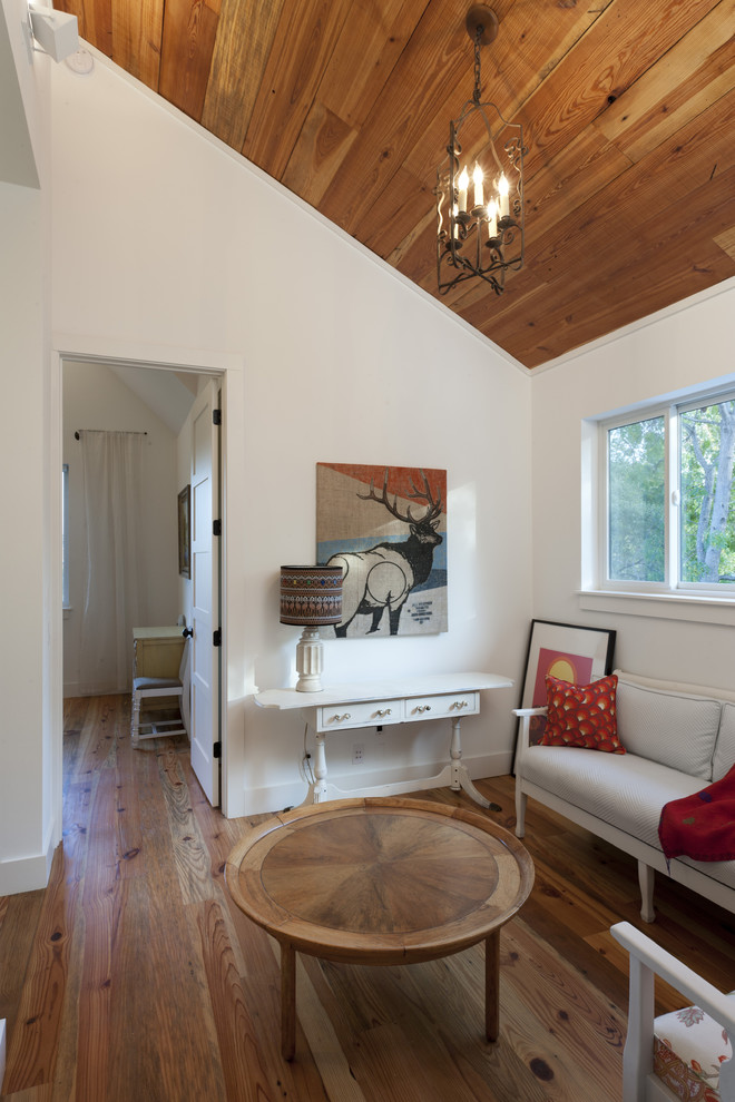 Glamorous little tikes first slide in Family Room Farmhouse with Two-person Desk  next to White Walls And Trim  alongside Two Person Bathtub  and Wood Ceiling