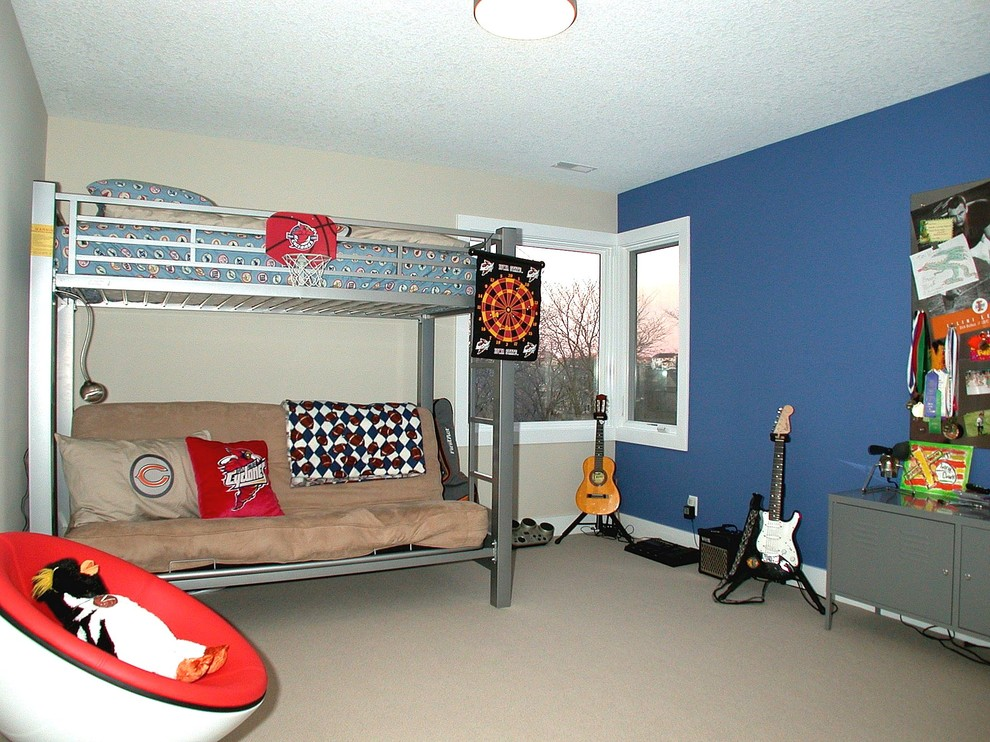 Good Looking futon beds for sale in Kids Contemporary with Blue Accent Wall  next to Mudroom Locker Ideas  alongside Futon  and Teen Boys Bedroom Ideas