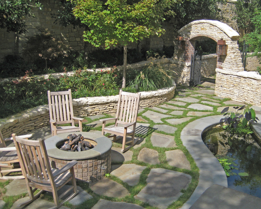 Good Looking rocking chair pads in Patio Traditional with ... on Backyard Pavers And Grass Ideas id=78623