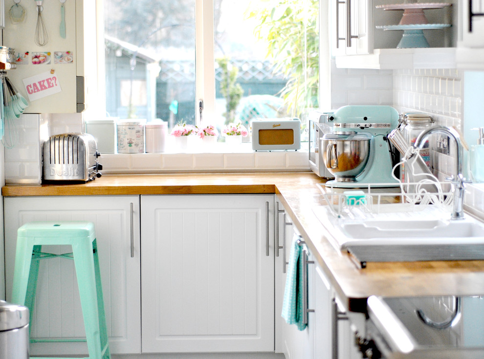 Impressive kidkraft retro kitchen in Kitchen Eclectic with French Country Kitchen Ideas  next to Painted Brick Ideas  alongside Kid-friendly Backyard Ideas  and Kitchen Cabinet Knob Placement