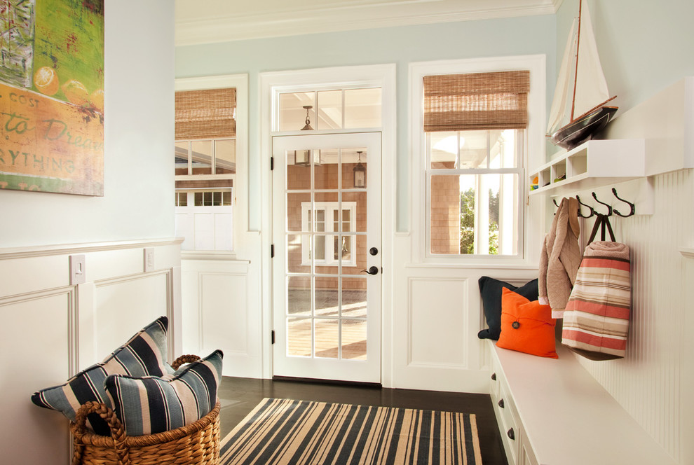 Impressive pyrex storage set in Entry Beach Style with Mudroom Locker Ideas  next to Entryway Bench  alongside Mudroom Bench  and Shipping Container Houses