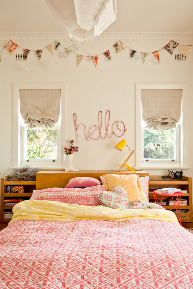 Innovative bedspreads for teens in Bedroom Eclectic with Girls Bedroom  next to Bedroom Curtain Ideas  alongside Teenage Girl Room Colors  and Teenage Bedroom Ideas For Boys