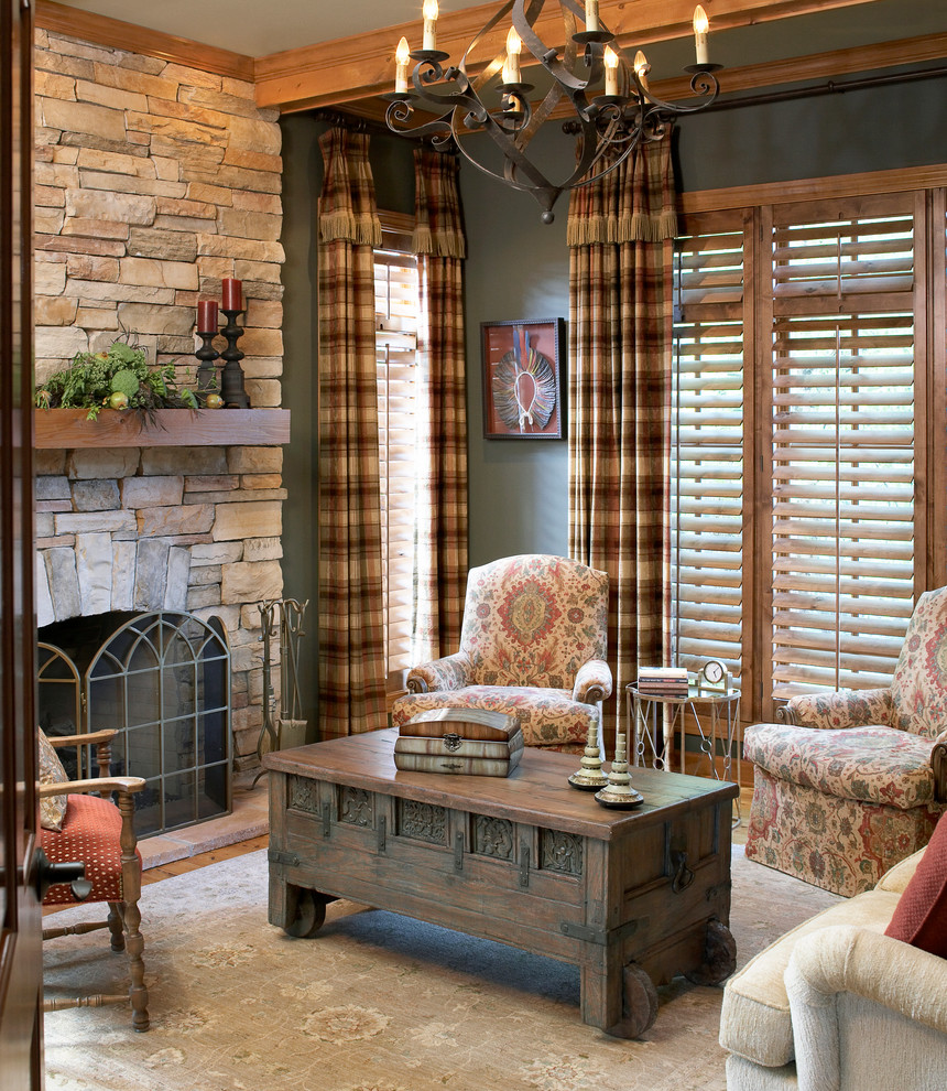 Superb Plaid Curtains In Home Office Traditional With Red Curtains Next To Buffalo Check