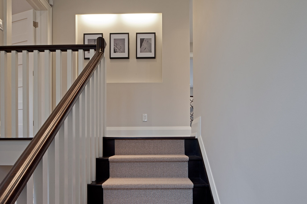 Inspired Stair Treads Carpetin Staircase Traditional With Graceful | Stair Treads For Hardwood Stairs | Curved Staircase | Stair Nosing | Carpet Stair | Risers | Non Slip