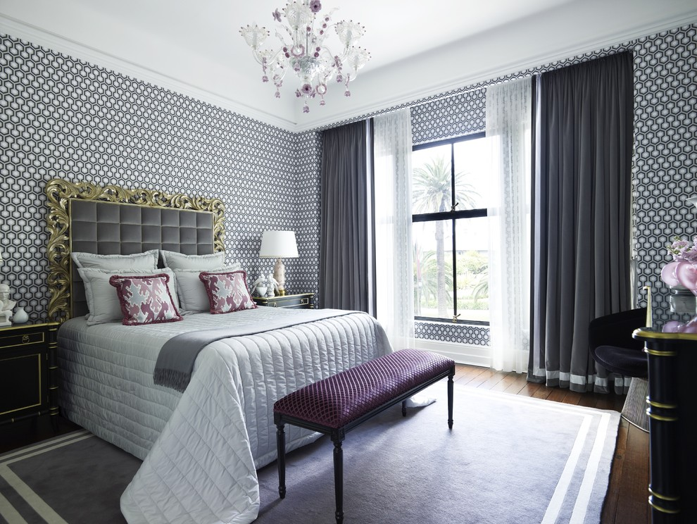 Splashy day bed covers in Bedroom Contemporary with Popular Exterior House Colors  next to Best Walk-in Closet Designs  alongside Master Bedroom  and The Most Beautiful Houses