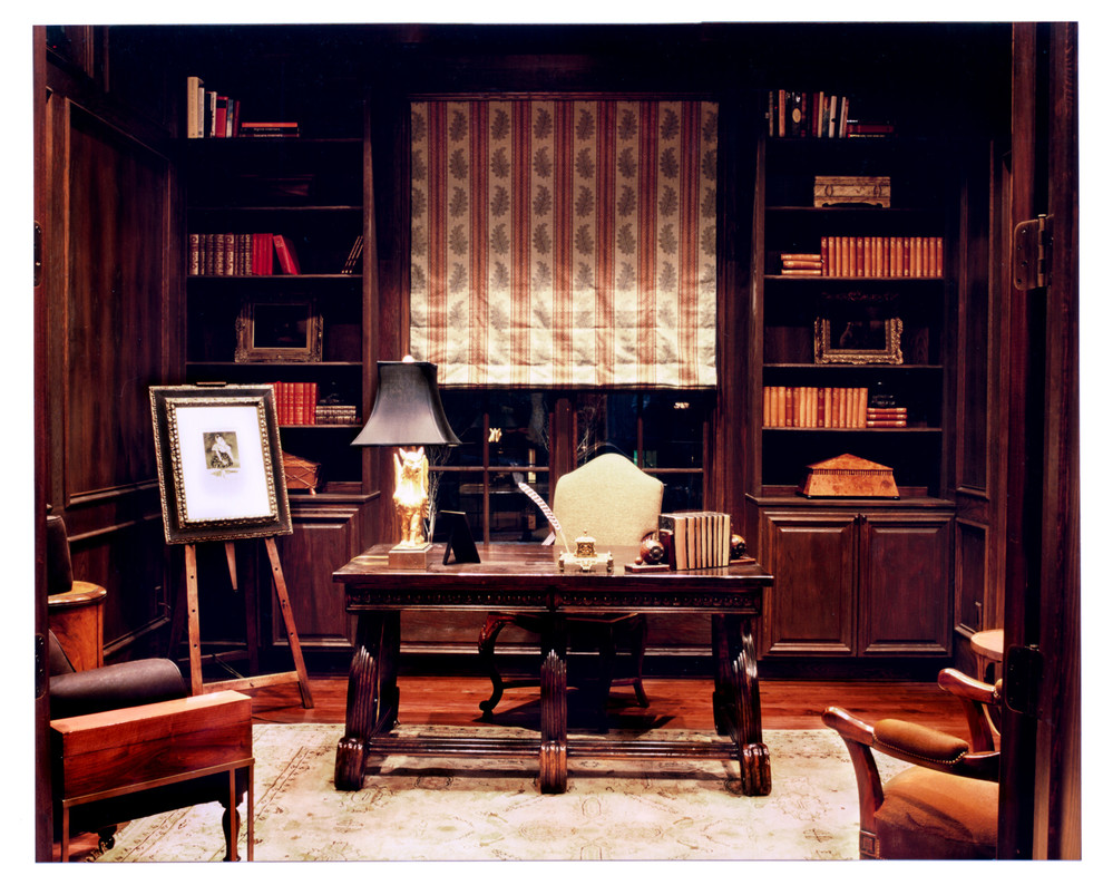 Library Paneling  Small Reading Room