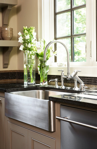 Magnificent stainless steel farm sink Decoration ideas for ... on Farmhouse Kitchen Sink Ideas  id=13870
