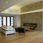corner stone fireplace dining room modern with french doors heating and cooling companies