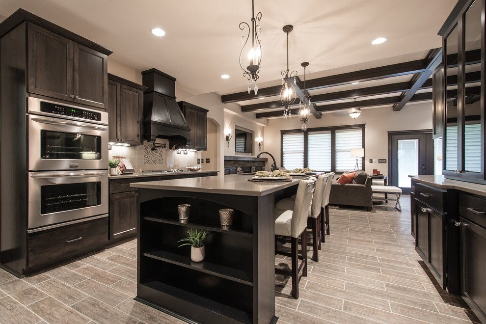dark maple cabinets traditional canada with top kitchen ... on Dark Maple Cabinets  id=70568