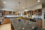 Granite Table Tops with Kitchen Rectangular Dining Built-in Sideboard