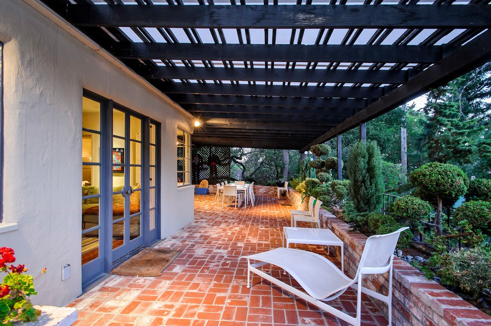 patio cover designs traditional with teak outdoor folding ... on Patio Cover Ideas For Rain id=72269