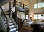 Spindles For Stairs with Hardwood Floors Staircase Foyer