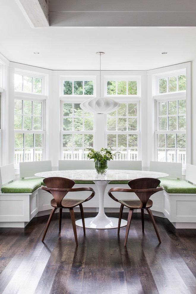 Boston Breakfast Tables Ikea Dining Room Transitional With