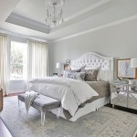 houston tufted sleigh headboard with traditional candleholders bedroom and tray ceiling chandelier